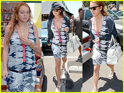 Lindsay Lohan in Escher