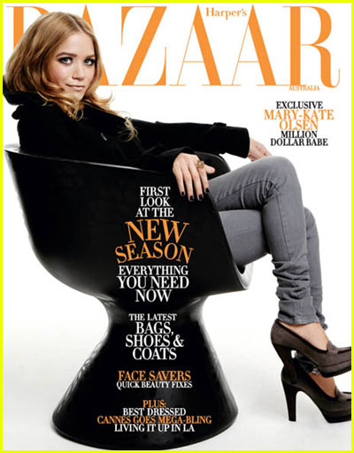 Mary-Kate Olsen: Harper's Bazaar Cover