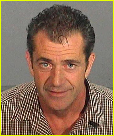 Mel Gibson Mug Shot