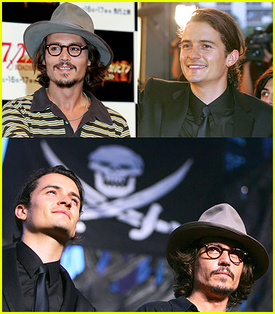 Pirates of the Caribbean Premiere in Tokyo