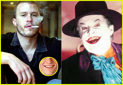 Heath Ledger is the Joker & Ryan Phillippe is Two Face?