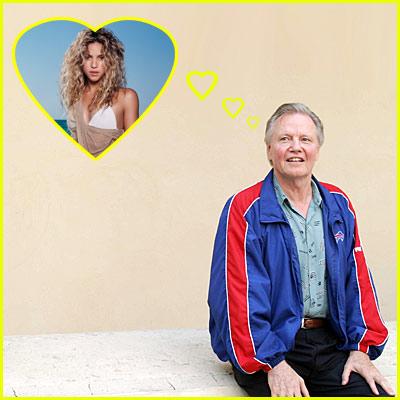 Jon Voight Loves Shakira