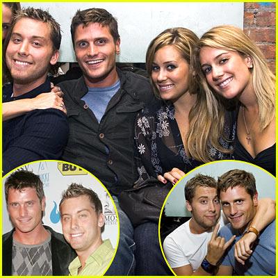 Lance, Reichen, Lauren & Heidi