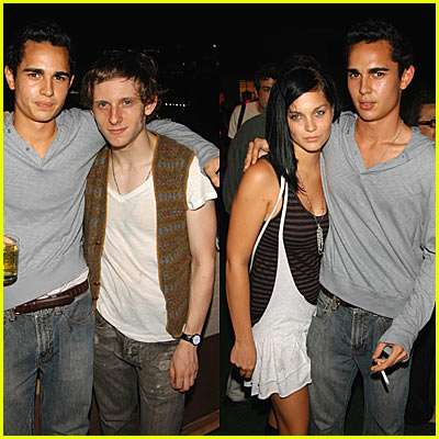 Max Minghella & Jamie Bell Pictures