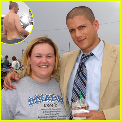 Wentworth Miller: Starbucks