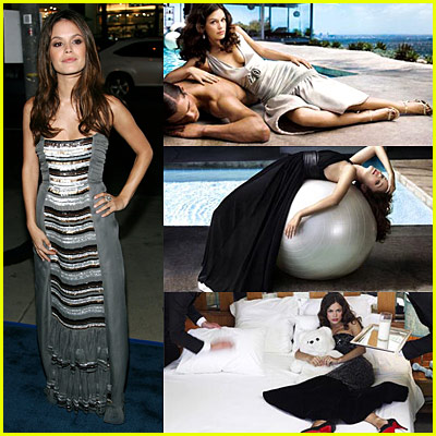 Rachel Bilson Puckers Up