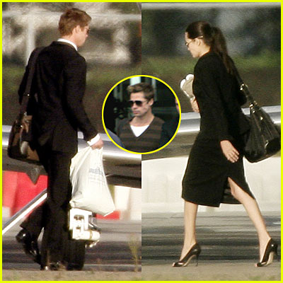 Brad & Angelina in HOLLAND!