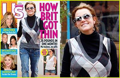 How Brit Got Thin