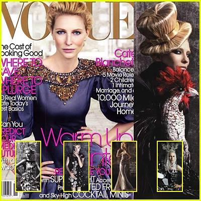 Cate Blanchett: Vogue Magazine