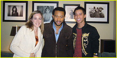 John Legend Interview By: Just Jared & Very Vera