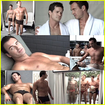 Nip/Tuck Goes Gay. Julian McMahon (Dr. Christian Troy) and Dylan Walsh (Dr. ...