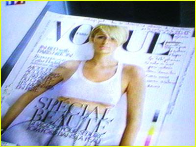 Paris Strikes 'French Vogue'