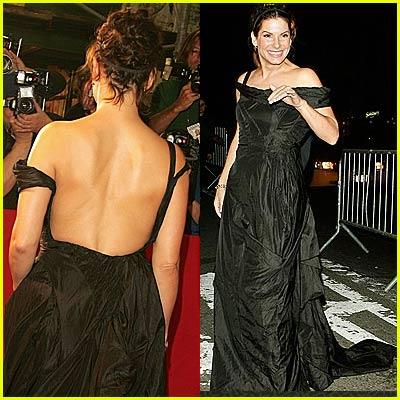 Sandra Bullock Wears Hunk o' Junk