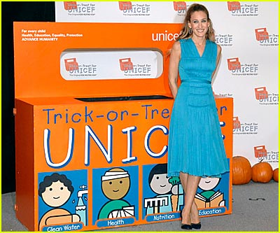 Sarah Jessica Parker for UNICEF