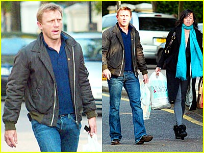 Daniel Craig Goes Fresh & Wild
