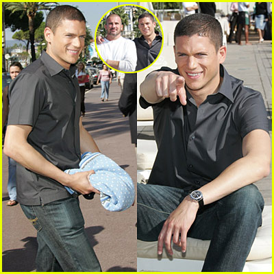Wentworth Miller in Cannes