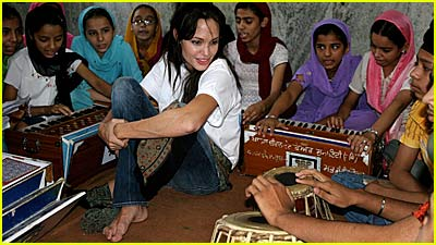 Angelina Jolie Serves Sikh