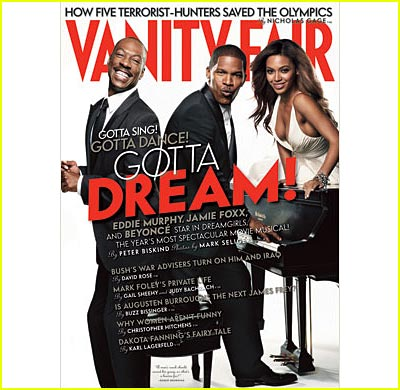 Dreamgirls Takes Vanity Fair Cover