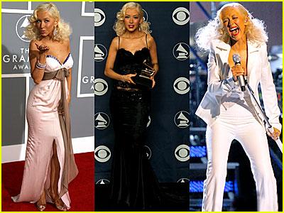 Christina Aguilera @ Grammys 2007