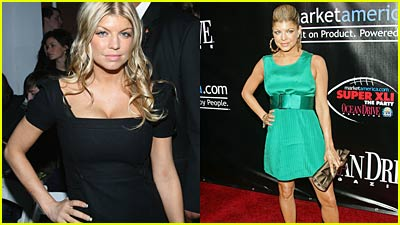 Fergie Flaunts it at Fashion Week