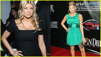 Fergie Flaunts it at Fashion Week