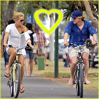 Owen Wilson Loves Barefoot Biking