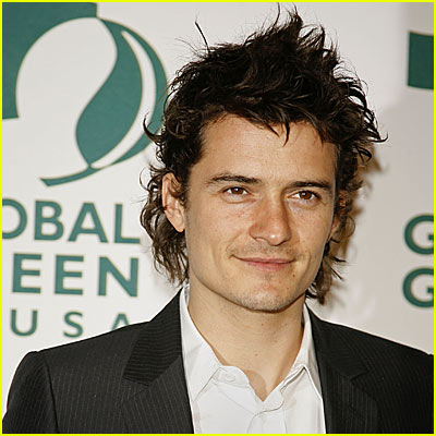 Orlando Bloom is a Wild Thing