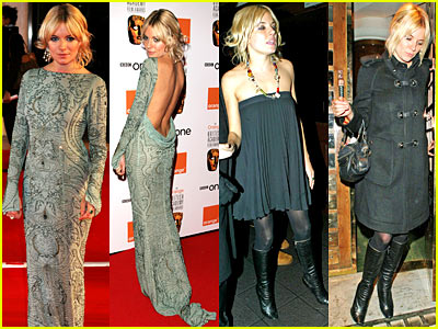 Sienna Miller's Back Bares All