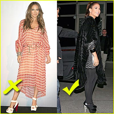 Jennifer Lopez: Fashion Fowards and Backwards