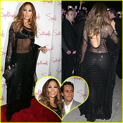 Jennifer Lopez's See Through Dress