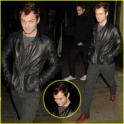 Jude Law's NYC Dinner Date