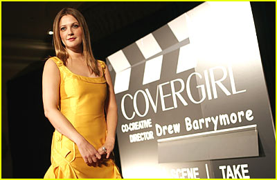 Drew Barrymore Named New CoverGirl