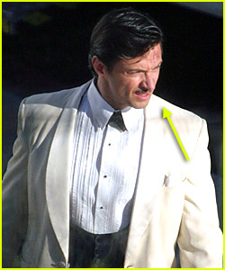 Hugh Jackman on the Set of 'Australia'