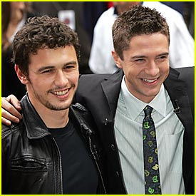 Photo of Topher Grace & his friend