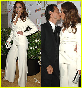 Jennifer Lopez Kissing on Couple Jennifer Lopez And Marc Anthony Share A Passionate Kiss