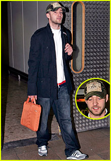 Timberlake Touches Down in England