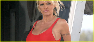 Pamela Anderson Does Baywatch (Again)
