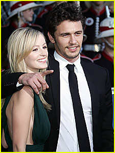 James Franco & Ahna O'Reilly: Cutest Spidey Couple