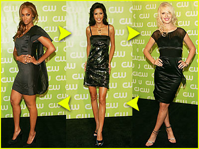 'Top Model' Faceoff @ The CW Upfronts