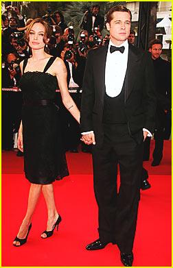 Brad & Angelina Make 'Mighty' Premiere