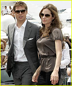 Brad & Angelina Cannes Cannes Together