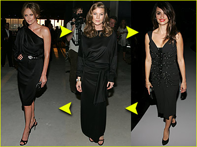 Fashion Faceoff: Who Looks Best in Black?