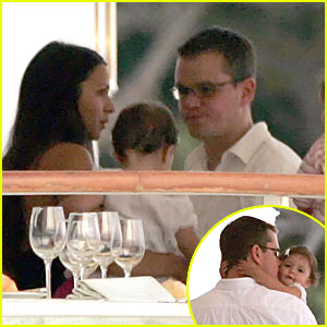 Matt Damon @ Ocean's 13 Private Party