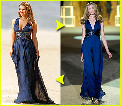 Fashion Faceoff: Roberto Cavalli Dress