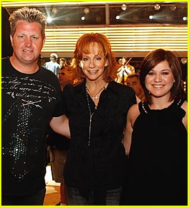 Kelly Clarkson @ ACMs 2007 Rehearsals
