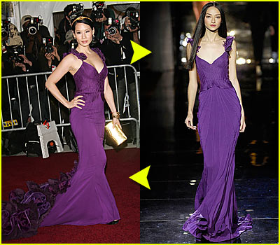 Lucy Liu @ Costume Institute 2007