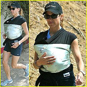 Sheryl Crow's Baby Hike