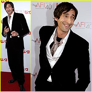 Adrien Brody @ AFI Awards 2007