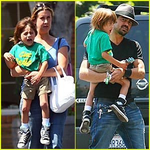 Colin Farrell's Son Rushes to the Doctor