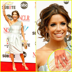 Eva Longoria Rocks The ALMA Red Carpet